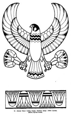 Egyptian stone engraved with the representation of a