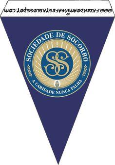 As Tontas Vão Ao Céu: Bandeirinhas - Sociedade de Socorro (Solange Grahl...