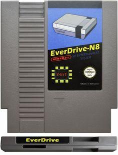 Everdrive NES N8 + Carcasa + 4GB