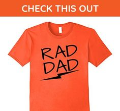 Mens Rad Dad Shirt | Funny Father's Day Shirt XL Orange - Relatives and family shirts (*Amazon Partner-Link)