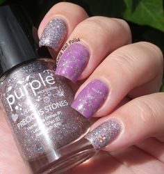 The Clockwise Nail Polish Review: Purple Professional 78 Amethyst & Perfect Gel 513