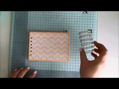 Bindowania bez bindownicy cz.2 tutorial | Co ja narobiłam! - YouTube Student Planner, Youtube, Pattern, Scrapbooking, Patterns, Scrapbooks, Model, Youtubers, Memory Books