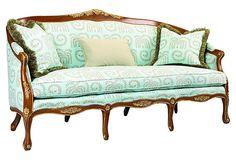 Salon Camielle Sofa on OneKingsLane.com - modern fabric for love seats