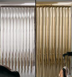 Blindsgalore® Vinyl Vertical Blinds: Mirrored