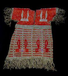 Lakota Sioux child's dress by Missouri History Museum, via Flickr
