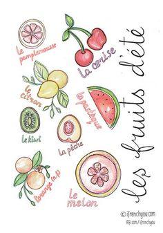 les fruits d'été-summer fruits