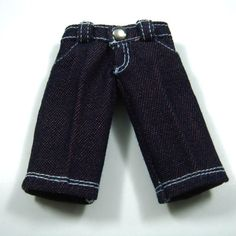 Purple 4-Pockets Jeans for Lati Yellow