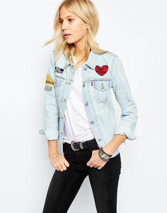 Veste en jeans levis femme pas cher