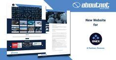 H #aboutnet δημιούργησε το νέο #website της εταιρίας Onex SA μιας πολυεθνικής εταιρίας με συστήματα Αεροναυπηγικής, Ασφάλειας, Ενέργειας, Νανοτεχνολογίας και άλλων. Η ιστοσελίδα είναι διαθέσιμη στο www.onexcompany.com