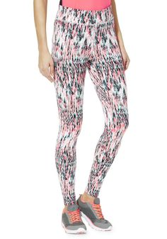 670aa28685776 Clothing at Tesco | F&F Active Digital Print Leggings > leggings >