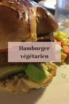 Hamburger végétarien pour un moment de pur bonheur