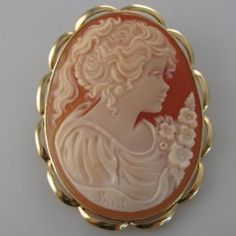 A cameo brooch set in yellow gold. Cameo Jewelry, Jewellery, Diamond Rings, Diamond Engagement Rings, Galway Ireland, Unique Vintage, Brooches, Vintage Jewelry, Pendants
