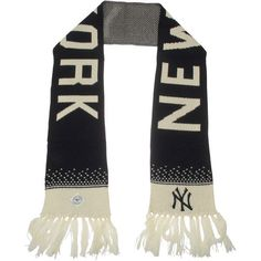 '47 Navy New York Yankees Magic Mountain Scarf ($22) ❤ liked on Polyvore featuring accessories, scarves, navy, navy blue shawl, navy blue scarves, navy scarves and navy shawl