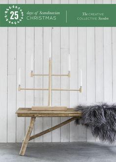 Make a Chrismas Candle Holder (Day 2: The Creative Collectives: 25 days of Scandinavian Christmas)