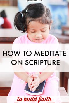 Have you heard about the benefits for Christians of meditating on scripture? Wondering how to start bible meditation? Read here to learn how to get started with bible meditation. Meditation Images, Easy Meditation, Meditation For Beginners, Bible Study Plans, Bible Study Tips, Christian Women Blogs, Christian Faith, Christian Living, Christian Meditation
