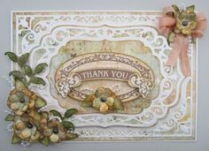 Today is Day 4 of the JustRite Papercraft April Release! The new stamp set we are showcasing today is called Vintage Banner. Z Cards, Card Tags, Paper Cards, Cool Cards, Card Making Designs, Card Designs, Vintage Banner, Card Creator, Homemade Greeting Cards