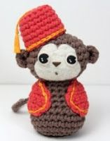 Free Amigurumi Patterns: Organ Grinders' Monkey