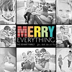 Everything Is Merry Holiday Card