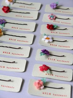 Crochet Bobby Pins Pictures, Photos, and Images for Facebook, Tumblr, Pinterest, and Twitter