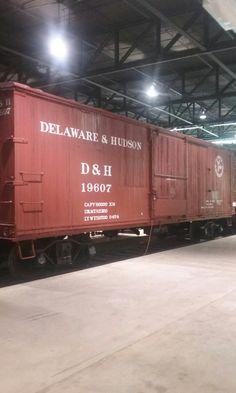 D&H Boxcar Strasburg Railroad, Railroad Photography, Boxcar, Model Trains, Delaware, Locomotive, New England, Planes, Trucks
