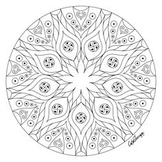 The sneak peek for the next Gift of The Day tomorrow. Do you like this one? #simple #mandala ••••••••••• Don't forget to check it out tomorrow and show us your creative ideas, color with Color Therapy: http://www.apple.co/1Mgt7E5 ••••••••••• #HappyColoring #GiftofTheDay #GOTD #ColorTherapyApp #coloring #adultcoloringbook #adultcolouringbook #colorfy #colorfyapp #recolor #recolorapp