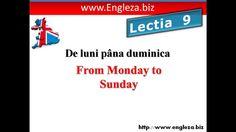 Curs de limba engleza audio video lectia 9 Audio, Letters, Youtube, Lettering, Fonts, Letter