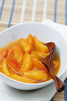Apricot Compote with Scotch Whisky - Scotch Food Recipes  (Pinned by SIA Scotch Whisky)