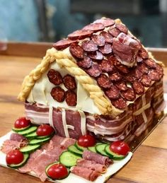 Charcuterie Houses Are This Year's Most Festive Holiday Treat
