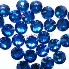 Capri Blue (243) Swarovski 2058 Xilion  New 2088 Xirius 20ss Crystal  Flatbacks No-Hotfix Rhinestones 4.7mm ss20 aa4e94f95023