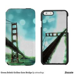 Green Bokeh Golden Gate Bridge Incipio Watson™ iPhone 6 Wallet Case