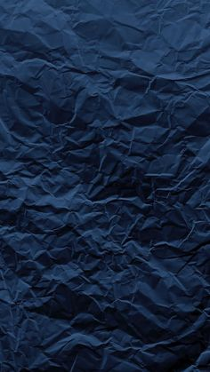 Beautifully Crumpled Navy Blue iPhone 6/6S - Phone Wallpaper / Background