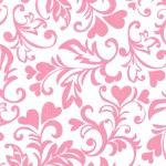 Michael Miller, Dandy, Damask, Valentines Day, Quilts, Pretty, Flowers, Red, Pink