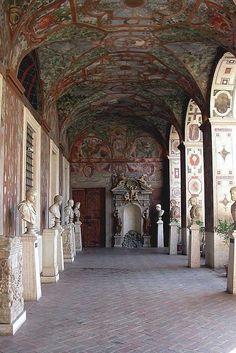 Loggia ~ Palazzo Altemps, Rome, Italy