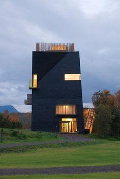Hamsunsenteret. Arkitekt: Steven Holl, USA