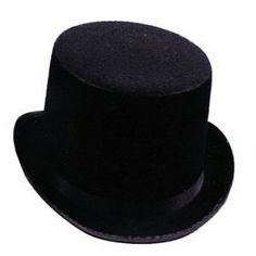 Black Top Hat like the one Dr. Jekyll wears $4.50 http://www.amazon.com/dp/B00362OJ06/ref=cm_sw_r_pi_dp_IrE4rb0VS0FJN