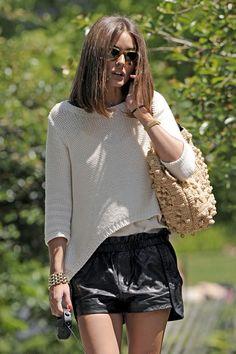 More Pics of Olivia Palermo Short Shorts