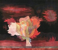 'Before the snow', 1920 by Paul Klee (1879-1940, Switzerland)