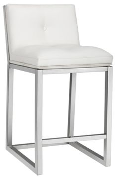 bar stools u0026 counter stools sr101061 leather bar counter stool - White Leather Bar Stools