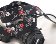Nikon dSLR Camera Strap - dSLR Camera Strap, Digital Camera Strap. $25.00, via Etsy.