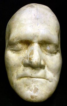 Benjamin Franklin Death Mask.