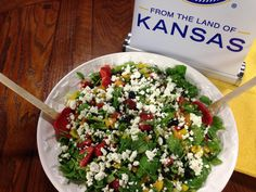 Chopped Summer Fruit Salad with Pearled Sorghum | From the Land of Kansas