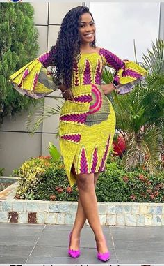 African Fashion Ankara, Latest African Fashion Dresses, African Inspired Fashion, African Dresses For Women, African Print Dresses, African Print Fashion, Africa Fashion, African Attire, African Clothes