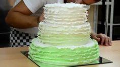 Wedding Cake / Svatební dort s volánky