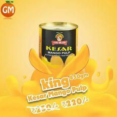 Anybody Still Want #Mango Taste, Get It Here !!! #KesarMangoPulp In Price Available Here Grocery Mantra https://www.grocerymantra.com/kings-kesar-mango-pulp.html #OnlineSuperMarket #OnlineGroceryShopping #TingTing #JaiHind #SaveWater