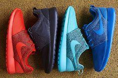 """Nike Roshe Run """"Safari"""" Pack / Наконец-то Nike Sportswear представили свой новый пак «Safari», для популярного силуэта Roshe Run. Модель представлена в четырех приятных расцветках и изготовлена из сочетания кожи и мэша. Кроссовки уже поступили в продажу и доступны..."""