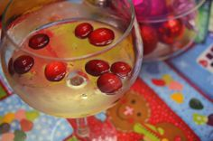 Rock around the Christmas tree with a glass of Holiday Sangria from @Stefanie Fauquet! #HolidayHelper