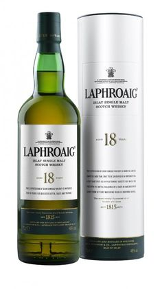Laphroaig 18 Jahre, 48%  Love this Scotch ....actually own a square foot of land there. Must go and stand on it one day ;) Cheers !