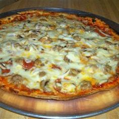 Pizza On The Grill II - Featured on Food2Fork.  #food2fork #food #recipes #cooking # Delicious #ingredients #Yummy