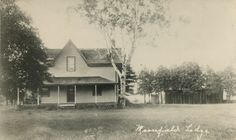 Vintage Photo of Moorefield Lodge on Boskung Lake - Near Carnarvon, Ontario
