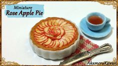 Hi guys! Today we're making a cute miniature rose apple pie ^^ I found some cool pictures of pie and tarts like this on pinterest and just had to make one :)...
